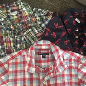 Bundle of Boys' s/s -Gap and Crewcuts